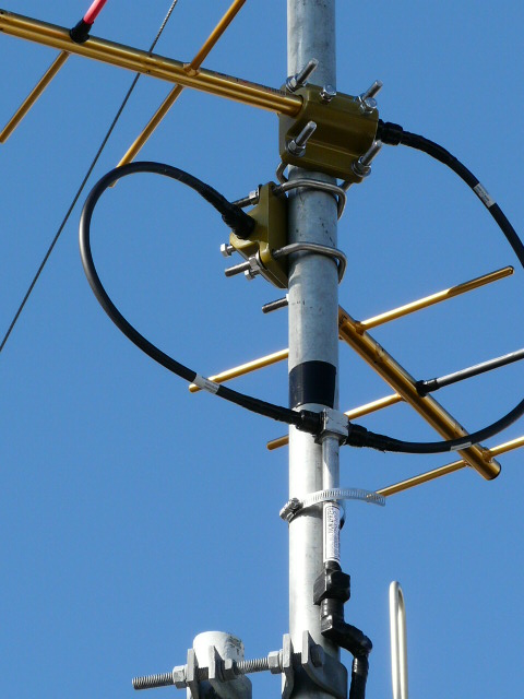 Back-up link antennas
